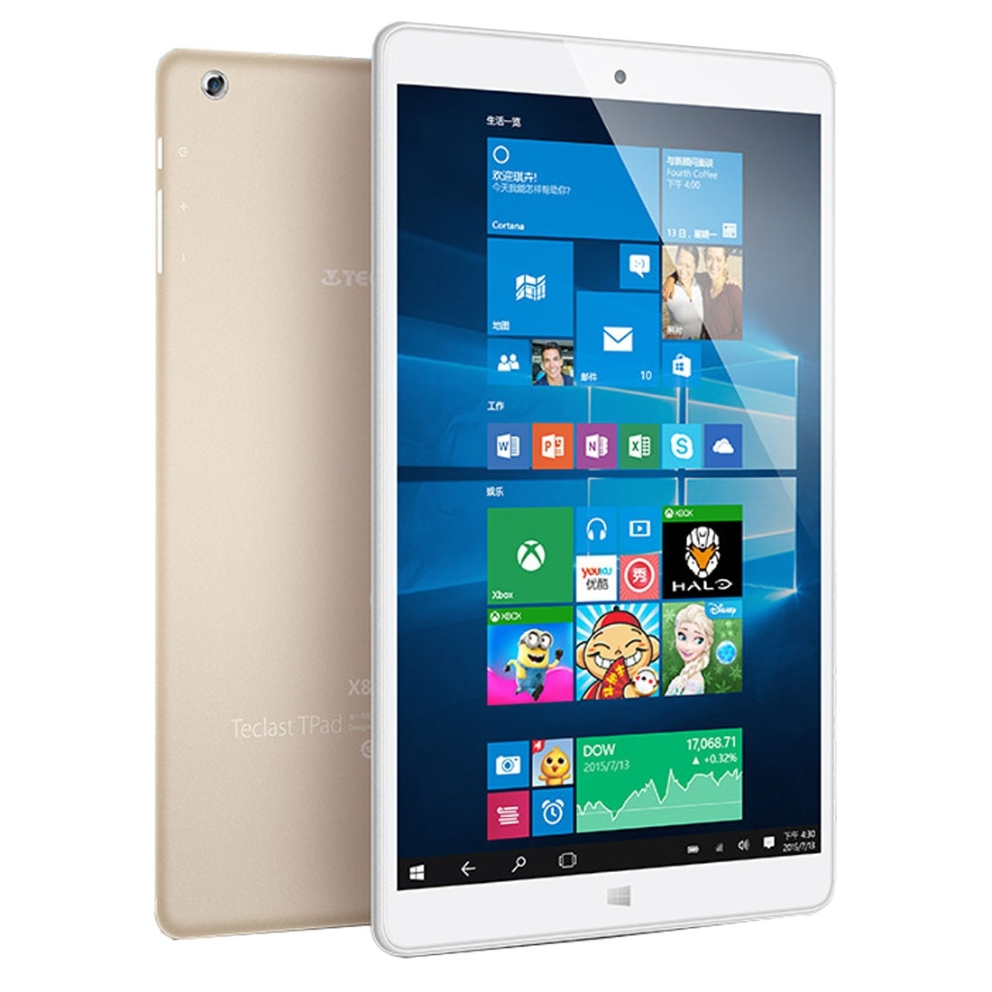 Teclast X80 power_1