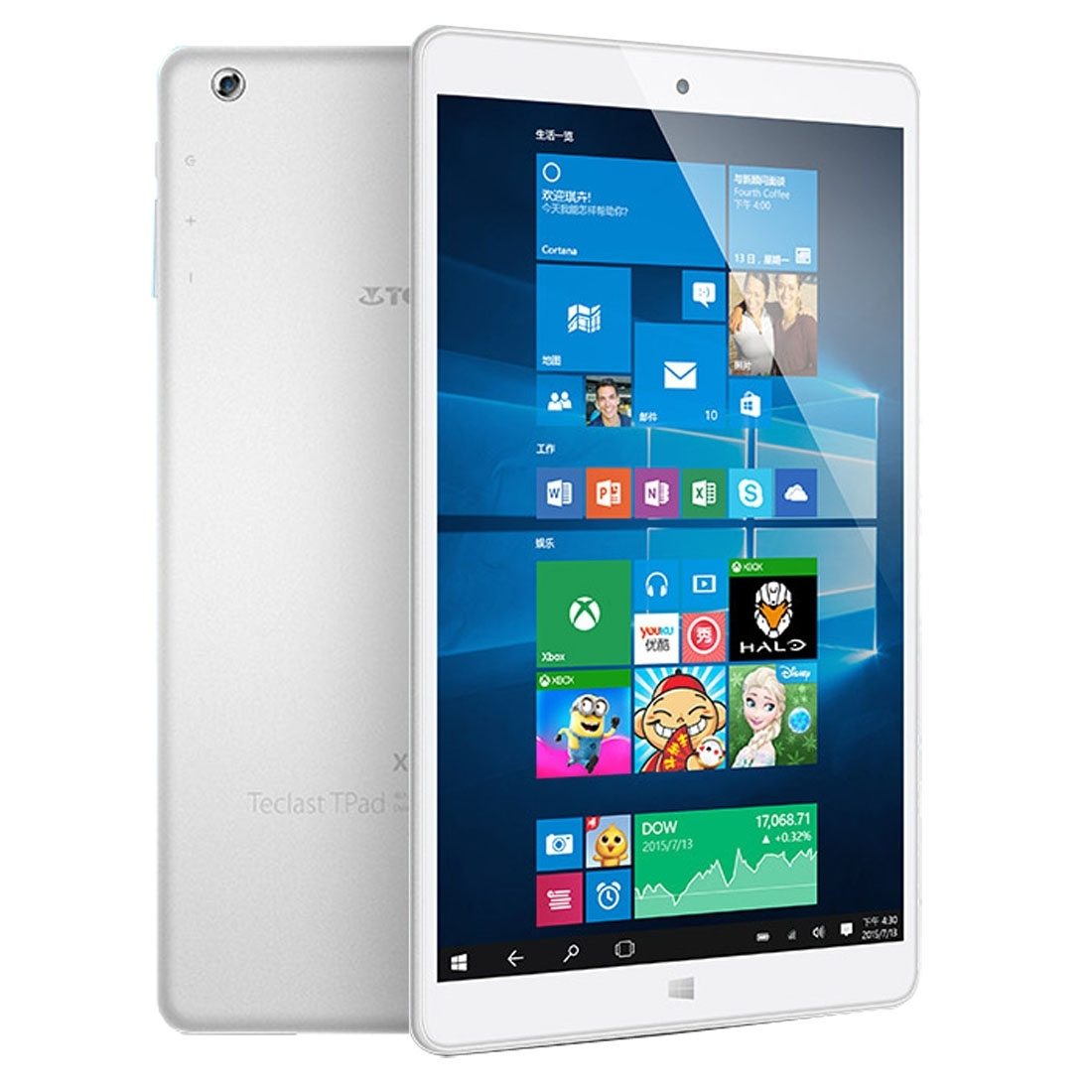 Teclast X80 power_2